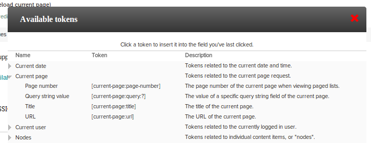 How to speed up Drupal by altering the tokens UI